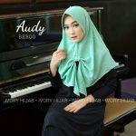 Jilbab instan / Jilbab Instan Audy Bergo with pad bubble pop