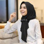 Jilbab instan / Hijab Aqilla Instan with pad bubble pop