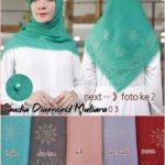 Jilbab Segi Empat Saudia Mutiara Diamond Seri : 03 (min 3 pcs)