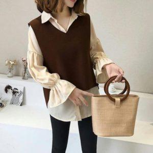 Jb atasan tunik blouse INDARI SET wolfice PR001