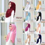 Jilbab Instan / Hijab Instant Dravery with pad jersey zoya