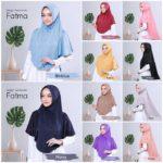 Jilbab Instan / jilbab cantik / Bergo Swarovski Fatma with pad jersey zoya