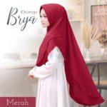 jilbab instan / jilbab cantik / Khimar Brya with pad double ceruti