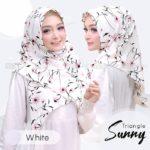 Jilbab instan / jilbab segitiga / Triangle/Segitiga Instant Sunny bubbleprint
