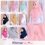 Jilbab Instan / Khimar Mini Pita with pad double ceruti