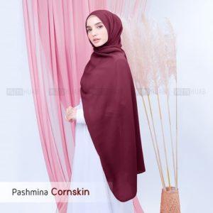 Jilbab Pashmina Cornskin
