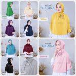 Jilbab Instan / Hijab Instant Turqina with pad jersey zoya